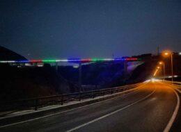 【2021/01/15~02/21】新阿蘇大橋『復興への光の架け橋』開催