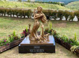 10月9日ワンピース「ロビン像」がお披露目されました!