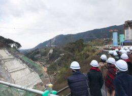 今しか見れない立野ダム工事現場見学プログラム